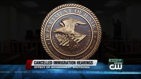 Close to 1,000 immigration hearings postponed in Arizona, more than 67,000 nationwide