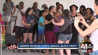 Kemper Museum hosts annual block party - Video