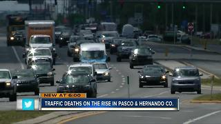 Traffic deaths on the rise in Pasco and Hernando Co. - Video