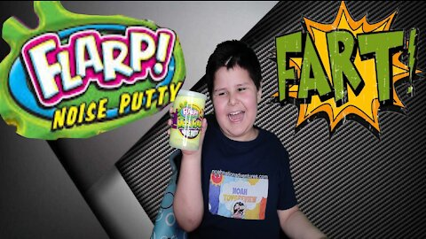 Mega Flarp Putty: Farting Slime Putty