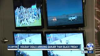 Black Friday store deals will start early to compete with giant online retailers - Video