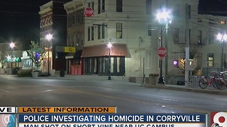 Man shot and killed 2 blocks from UC campus - Video