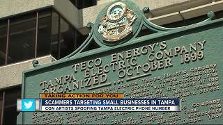 Scammers pretending to be TECO are targeting Bay Area small businesses - Video