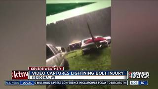 Woman hit by lightning at country music festival