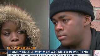 Family unsure why West End homicide victim was shot - Video