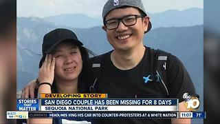 San Diego couple missing for 8 days - Video