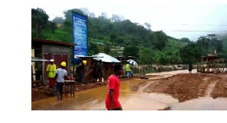 A Drive Through Freetown Reveals Severe Flooding - Video