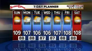 13 First Alert Las Vegas Weather Forecast for July 29 - Video