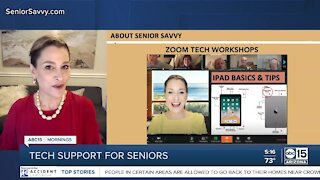 Tech support for seniors
