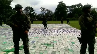 Colombia Makes Record Cocaine Bust - Video