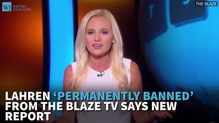 Lahren 'Permanently Banned' From TheBlaze TV Says New Report - Video