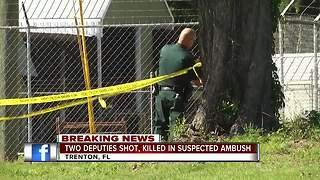 2 deputies shot, killed in suspected ambush in Florida - Video