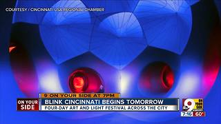 Blink Cincinnati begins Thursday - Video
