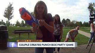 Shelby Township Couple introduces their Punch Box game - Video