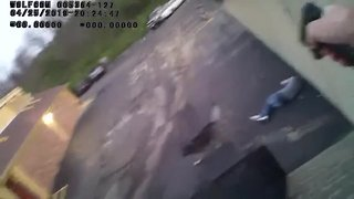 Body camera shows Erlanger officer-involved shooting