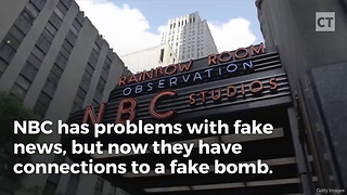 CNBC-Linked Crew Caught Sneaking Fake Bomb Into Airport - Video