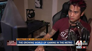 Gaming industry taking KC metro by storm - Video
