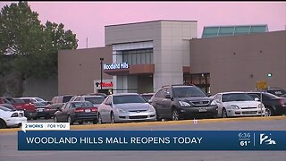Woodland Hills Mall reopens today
