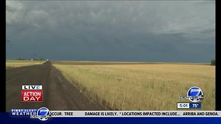 Severe storms spawn tornadoes, damaging hail across eastern Colorado - Video