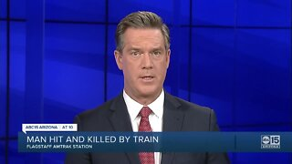 PD: Pedestrian hit, killed by train in downtown Flagstaff