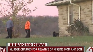 Search for missing elderly mother and her son - Video