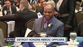 Detroit honors heroic officers - Video