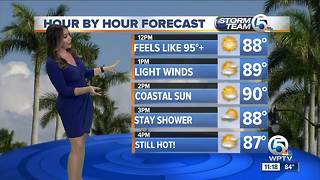 South Florida Wednesday afternoon forecast (6/20/18) - Video