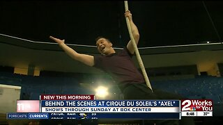 "Behind the scenes at Cirque Du Soleil's ""AXEL"""