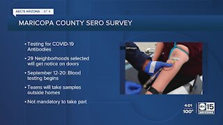 Maricopa County announces COVID-19 antibody project