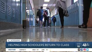 Helping high schoolers return to class