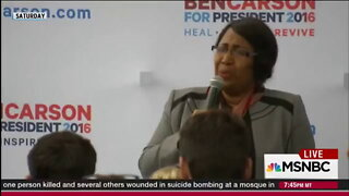 Candy Carson sings