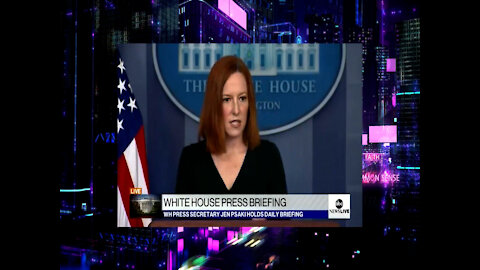 Jen Psaki Blames Biden Border Crisis on President Trump, Kamala Says It's A Climate Change Issue?