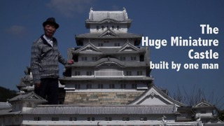 This Man Took Almost 20 Years To Build An Impressive Miniature Castle - Video