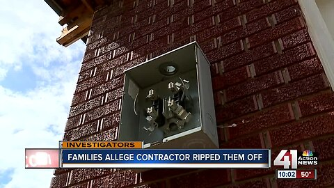 Families claim contractor ripped them off