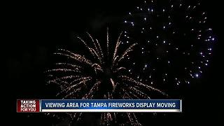 New Year's Eve fireworks move from Channelside to Cotanchobee Fort Brook Park - Video