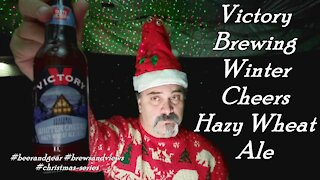 Victory Brewing Winter Cheers Hazy Wheat Ale 4.0/5