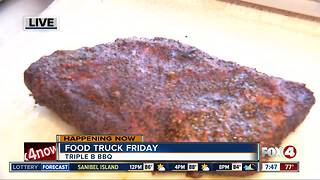 Food truck Friday: Triple B BBQ 7:45 - Video