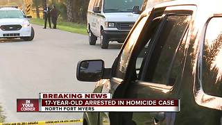 Lee County deputies arrest 17-year-old in NFM murder - Video