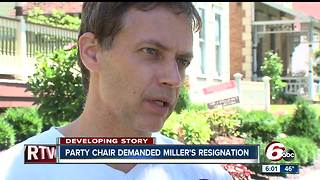 Indianapolis councilman Jeff Miller was serving his second term on council when he was charged Friday with child molesting - Video