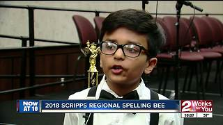 Regional Spelling Bee winner - Video