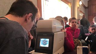 KC area students get free eye exams & glasses - Video