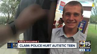 Family of teen with autism files $5 million claim against Buckeye police - Video