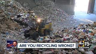The do's and dont's of recycling - Video