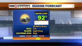 Storm Chances Continue Each Afternoon 7-4 - Video