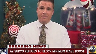 Arizona Supreme Court refuses to block minimum wage boost - Video