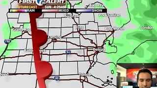 Strong storms possible this weekend - Video