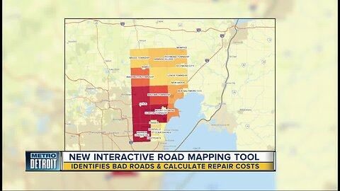 New mapping tool finds bad roads, calculate repair costs