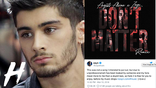 Zayn Malik's Leaked Song Crashes Website - Video