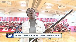Iroquois High School named national leader in unified sports
