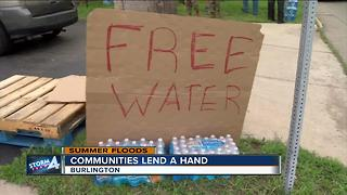Communities from across the area helping flood-ravaged communities